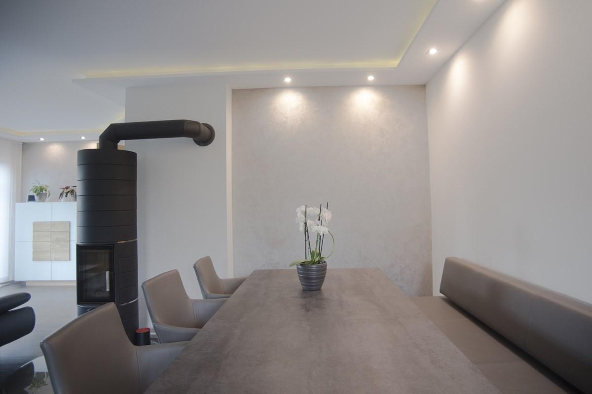 moderne wandgestaltung mit putz > | putz design krames, putz f 252